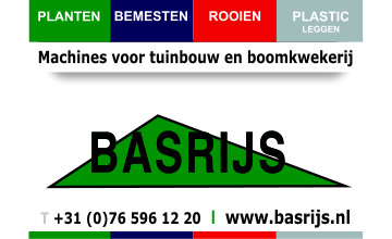 Basrijs - Machines voor tuinbouw en kwekerij
